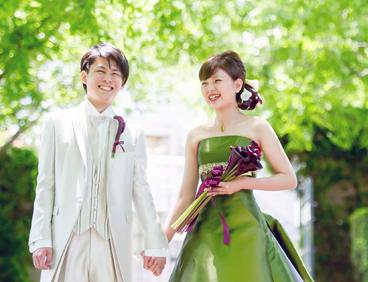 写真:ウエディングドレス