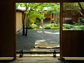 旧一条恵観山荘庭園2