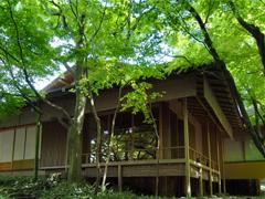 旧一条恵観山荘時雨席と力囲席