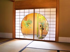 一条恵観山荘茶室